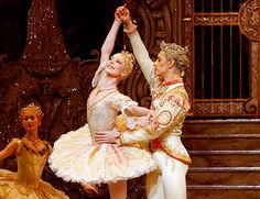 "Sarah Lamb and Sergei Polunin as the 'Sugar Plum Fairy and her Prince' in act II of Peter Wright's ""The Nutcracker"". Royal Opera House, November Photos by John Ross. Sarah Lamb, Peter Wright, Sergei Polunin Dancer, Ballet Performances, Sugar Plum Fairy, Svetlana Zakharova, Royal Ballet, Dance Costumes, True Love"