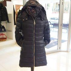 #piumino lungo #blu #nero #rosso #cappuccio #special #price #valeria #abbigliamento