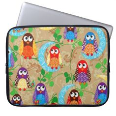 >>>Smart Deals for          	Funky Brown Owls Cool Moons Laptop Computer Sleeves           	Funky Brown Owls Cool Moons Laptop Computer Sleeves online after you search a lot for where to buyDeals          	Funky Brown Owls Cool Moons Laptop Computer Sleeves Review from Associated Store with th...Cleck Hot Deals >>> http://www.zazzle.com/funky_brown_owls_cool_moons_laptop_sleeve-124563796771574363?rf=238627982471231924&zbar=1&tc=terrest