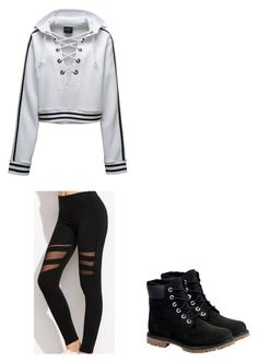 """""""Untitled #37"""" by alyssahislope22 ❤ liked on Polyvore featuring Timberland and Puma"""
