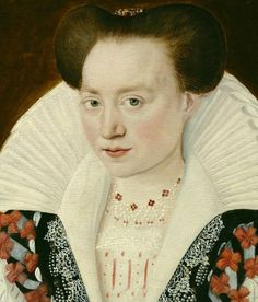 Catherine de Clèves, la Duchesse de Guise by ? Late 16th century from Grand Ladies website