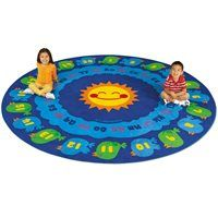 Learn-Around Activity Carpet - 6'