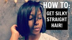 HOW TO: FLAT IRON NATURAL HAIR! [Video] - https://blackhairinformation.com/video-gallery/flat-iron-natural-hair-video/ Girl Short Hair, Short Girls, New Hair Look, Flat Iron, Hair Looks, Girl Hairstyles, Black Hair, Short Hair Styles, Natural Hair Styles