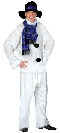 Deluxe Adult Snowman Costume - Christmas Costumes