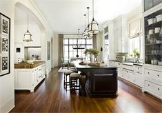 Classic Traditional Kitchen by Barbara Westbrook