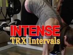 Intense TRX Interval for Your Core: Strengthen your abs, core and lower back with these 2 new challenging TRX intervals. These exercises will help build up your core stabilizing muscles, while they work your shoulders, hips, and hamstrings too!