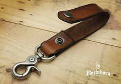 Blackthorn Leder Key Fob / Schlüsselanhänger / Key Gürtel