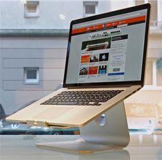 Test de socles pour donner de la hauteur au MacBook | MacGeneration