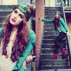 Turbante fashion. Foto Lookbook de Katrina K