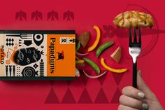 Papadums Go-Go Gourmet on Packaging of the World - Creative Package Design Gallery
