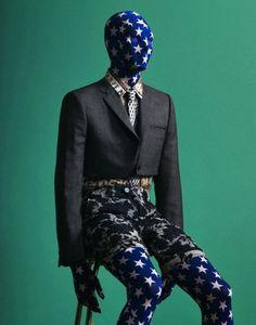 man behind the mask, pinned by Ton van der Veer