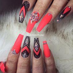 long nails Pretty Winter Nails Matte Color For Long Nail Art Designs Oxblood Nails, Mauve Nails, Maroon Nails, Neutral Nails, Shellac Nails, Rose Gold Nails, Nail Polish, Burgendy Nails, Nail Nail