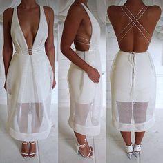 Natalie Rolt, Holey Moley Dress