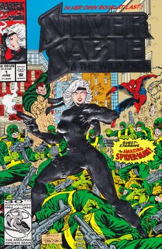 Silver Sable and the Wild Pack # 1 by Steven Butler & Dan Panosian
