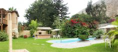 Áreas verdes y piscina