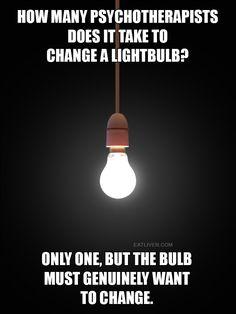 Changing a Lightbulb
