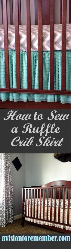 How to Sew a Ruffle Bed Skirt Using Ruffle Fabric
