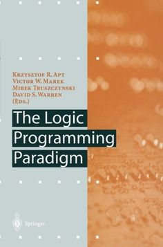 The Logic Programming Paradigm: A Perspective (Artificial Intelligence) Computer Programming Books, Logic Programming, Artificial Intelligence, Perspective, Perspective Photography, Point Of View