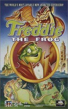 Freddie as F.R.O.7. 1992