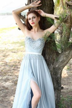 In this collection, kinds of pastel dusty blue bridesmaid dresses for wedding and beautiful dusty blue evening dresses are available. When you see the dresses, you will find dusty blue is not only implicit and soft but also very mild and pure. Sometimes,...