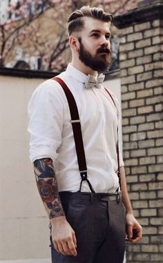 Clothing retro for men photo