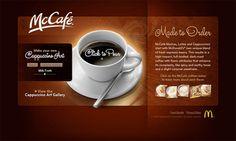McCafe - Cappuccino Art / View 1 Cappuccino Art, Coffee Latte Art, Mccafe Coffee, Dark Roast, Make Your Own, How To Make, Mocha, Earthy, Tableware