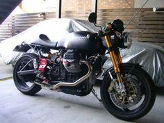 RocketGarage Cafe Racer: Guzzi V11 Sucra Classic