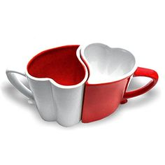 mug couple love Valentines Day, Mugs, Love, Tableware, Organizing Tools, Couple, Dishes, Products, Romantic Breakfast