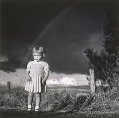 Max Dupain Little girl in a thunderstorm, 1949