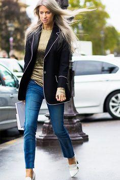 街拍示範:Skinny Jeans 的 8 個新鮮穿搭提案!