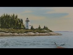 Watercolor Workshop Eps 15 The Little Lighthouse - YouTube                                                                                                                                                                                 More