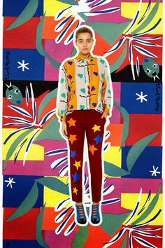 Tata Naka  inspired Matisse collection collaged by Miss Moss .