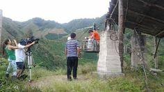Programa La Finca de Hoy en su etapa final de grabaciones en Timaná. El programa del Canal Caracol desde el día martes viene grabando una serie de capítulos donde se mostrará las bondades del campo timanese.