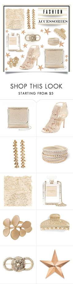 """""""Accessories"""" by outfitsloveyou ❤ liked on Polyvore featuring Gunne Sax By Jessica McClintock, Christian Dior, Faliero Sarti, Chanel, Kataoka, Alexandre de Paris, Miriam Haskell and Thos. Baker"""