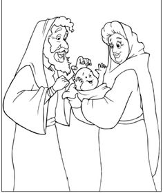 Abraham and Sarah have a baby in their old age