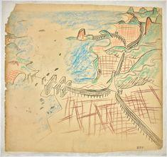Croqui Feito por Le Corbusier, para o Rio de Janeiro, 1929