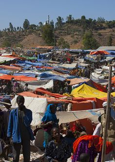 """Bati: """"For more than two centuries, Bati has hosted Ethiopia's largest cattle and camel markets, which attracts up to 20,000 people every Monday, and is well worth the minor diversion should you pass through at the right time."""" www.bradtguides.com"""