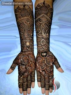 Mehndi Designs 2014 | Arabic, Indian & Bridal Mehndi/Henna Designs - She9 | Change the Life Style