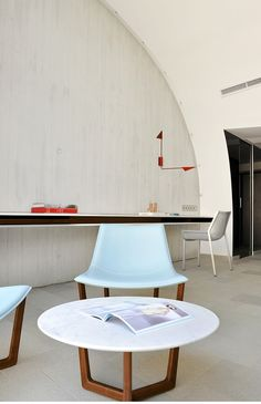 Hotel Sazz Saint-Tropez by Studio Ory  interiors and furnishings by Christophe Pillet for Porro