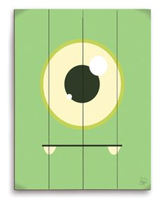 Love this Green Friendly Monster Wall Art by Image Canvas on #zulily! #zulilyfinds
