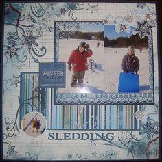 Midnight Frost - Sledding Layout