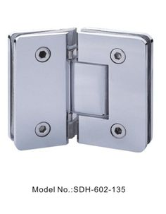 135 degree shower door hinges glass to glass square with