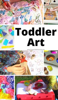Your Toddlers Will Love These Art Projects