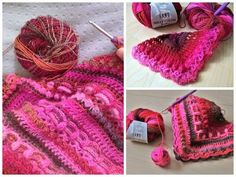 Mille Colori Baby Luxe 50 g / no. Lang Yarns, Crochet Necklace, Blog, Blogging