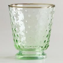 texture drinking glass