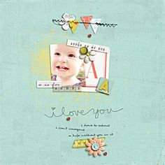 A Is For Asher - Scrapbook.com