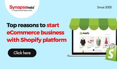 Are you thinking of starting an ECOMMERCE BUSINESS?  Choose SHOPIFY PLATFORM to add the latest features and functionalities.  Look forward to increasing product sales with the technical assistance of SynapseIndia. Selling Online, Ecommerce, Mindfulness, Platform, Ads, Things To Sell, Business, Heel, Store