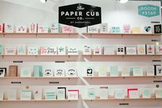 National Stationery Show 2013, Part 5 - The Paper Cub Co.