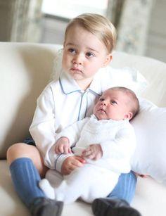 <3 Prince George & Princess Charlotte <3