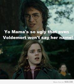 Yo momma Harry potter